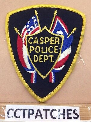 Casper, Wyoming Police Shoulder Patch Wy