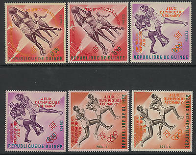 XG-B011 OLYMPIC GAMES - Guinea, 1963 Conakry Commission Ovp. MNH Set