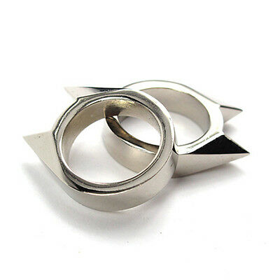 EDC Stainless Steel Ring Outdoor Survival Escape Tool PM