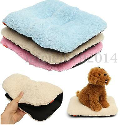 Washable Warm Soft Velvet Pet Dog Cat Puppy Cage Pad Bed Cushion House Mat Nest