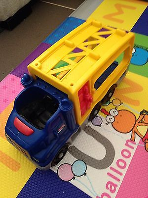 Various Trucks, Toys. Fisher Price And Little People