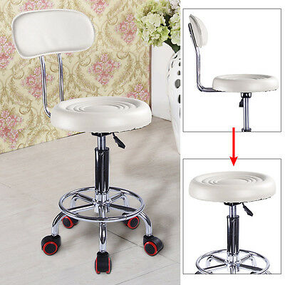 Salon Chair Massage Hairdressing Styling Barber Beauty Stool Removable backrest