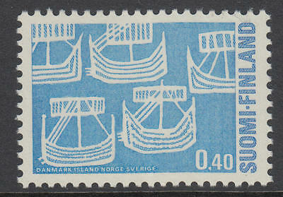 XG-Q587 FINLAND - Ships, 1969 Norden, Nordic Issue MNH Set