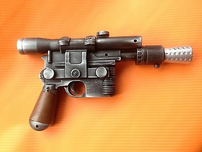 Star Wars Han Solo DL-44 blaster ANH with sound Cosplay Prop