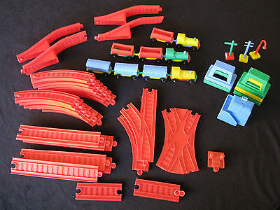 Vintage Toltoys Train Set For Additional Parts (Qty 45)