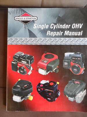 Briggs And Stratton Engine Manual-Single Cylinder Ohv Repair Manual-As New