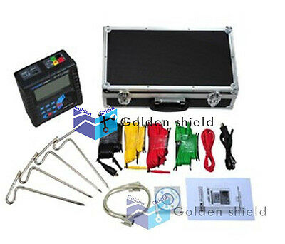 ETCR3000B Digital Earth Resistance Soil Resistivity Tester Meter