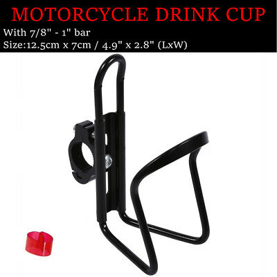 Silver Drink Cup Holder For Yamaha V-Star 650 Custom Classic