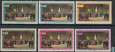 XG-C777 VENEZUELA - Set, 1961 150Th Anniv. Of Independence Declaration MNH