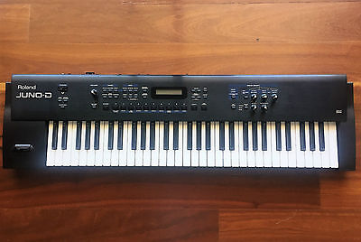 Roland JUNO-D Keyboard + Pedal + Carry Bag (Excellent Condition)