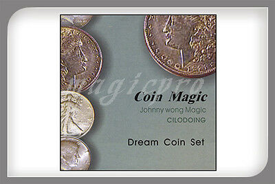 Dream Coin Set (with DVD) Magic Trick