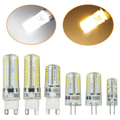 G4 G9 LED Bulb Light 2W 3W 5W 6W SMD Day Warm White Capsule Lamp Replace Halogen