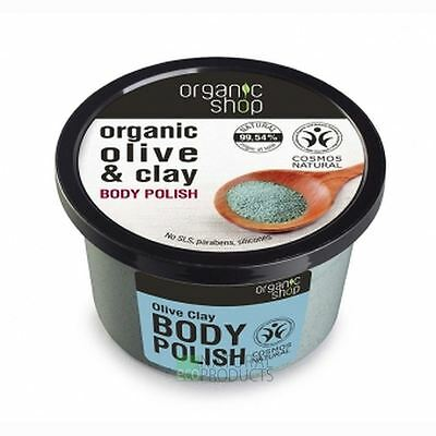 Organic Shop Body Polish Natural Olive and Clay 250ml
