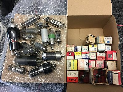 Television and Radio Valve lot number 1