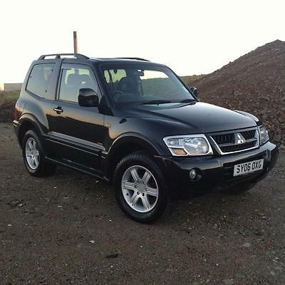 06 06 Mitsubishi Shogun Warrior 3.2 DI-D Auto Black