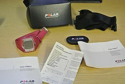 Polar FT60 Training Computer with instructions
