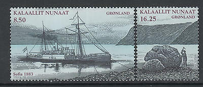 XG-R289 GREENLAND - Finland, 2008 Joint Issue, Ships, Expeditions MNH Set
