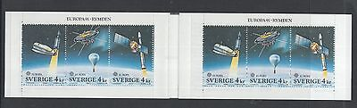 XG-R352 SWEDEN - Space, 1991 Europa Cept MNH Booklet