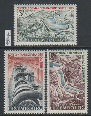 XG-R573 LUXEMBOURG - Industry, 1964 Vianden Water Pumping Station MNH Set