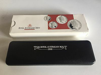 1988 Australian Masterpieces in silver proof coin set