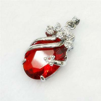 Lucky girl fashion Crystal Pendant Necklace Gift hot-8#