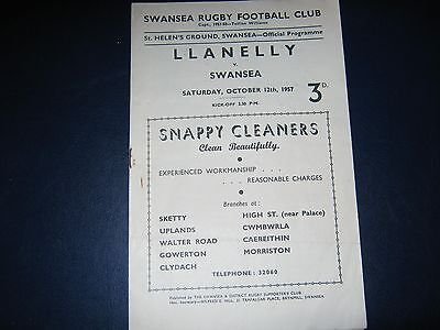 Rugby Programme, 1957