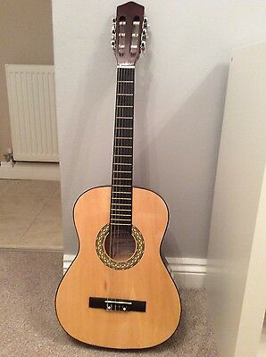 3/4 left handed classical guitar