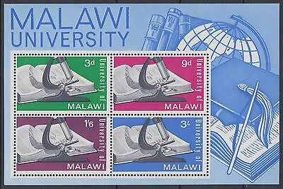 XG-D634 MALAWI - Sheet, 1965 University, Science MNH