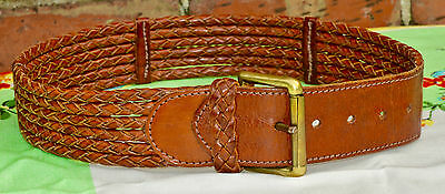 Rare Vintage  Leather Belt By Ralph Lauren 1 In Walsall Museum