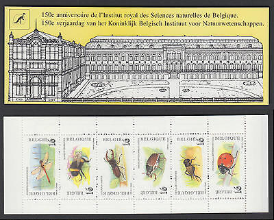 XG-R947 BELGIUM - Insects, 1996 Bees MNH Booklet