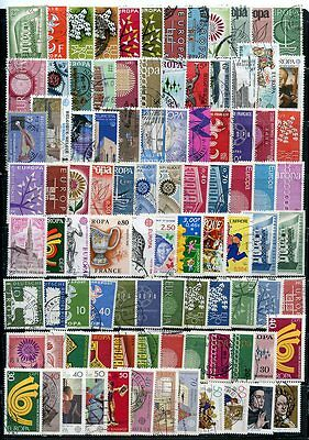Europa, Nice Lot Of Used Stamps, Very Good Condition, Free Shipping