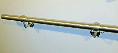 Stainless Steel Handrail / Grab rail with Flat End Caps / Wallrail Bannister