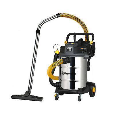 Industrial Wet and Dry Vacuum Cleaner   Powerful 50L Wet Dry Vac w. HEPA Filter