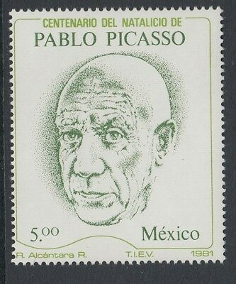 XG-S300 PAINTINGS - Mexico, 1981 Picasso Centenary MNH Set