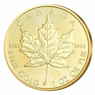 Goldmünze Kanada 2017 Maple Leaf 999,9er Gold 1 oz (1 Unze) CANADA