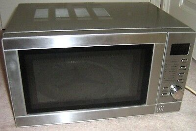 Silver Microwave - Mg208 - Combination Oven & Grill - Low Use