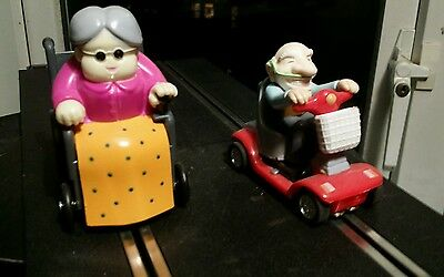 Scalextric mobility old folks