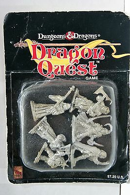 Boxed Set 0F 6 Dungeons And Dragons - Dungeon Quest Metal Figures