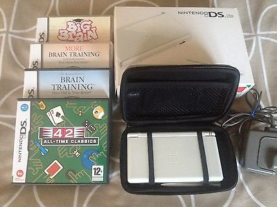 Nintendo DS Lite Dr. Kawashima's Brain Training: How Old Is Your Brain?...