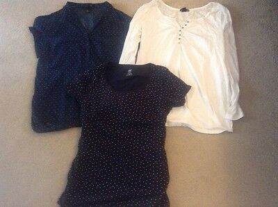 maternity tops size 14/large H&M