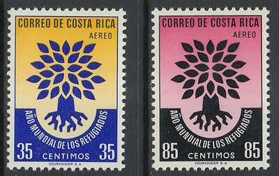 XG-G194 COSTA RICA - Refugee Year, 1960 2 Values MNH Set