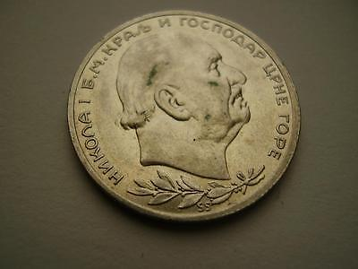 1912 Montinegro 1 Perper aEF or better 520,000 minted 5.0 grams
