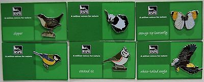 Joblot Of 6 Rspb A Million Voices For Nature Charity Badges Lot 10