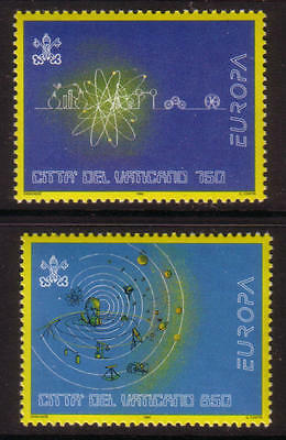 XG-G523 VATICAN CITY - Space, 1994 Europe And Discoveries MNH Set