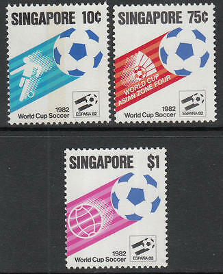 XG-G717 SINGAPORE IND - Football, 1982 Spain '82 World Cup MNH Set