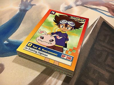 Digimon Animated Series 1 lot 20 cards card lot + Checklist NM / Mint