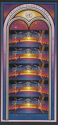 XG-G855 SPACE - United Nations, 1992 Vienna, Mission Planet Earth MNH Sheet