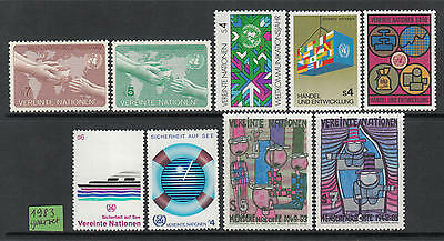XG-G905 UNITED NATIONS - Year Set, 1983 Vienna, Complete As Per Scan MNH