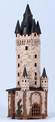 "Handmade Midene ceramic, ""Eschenheim Tower in Frankfurt, Germany"" (D245)"
