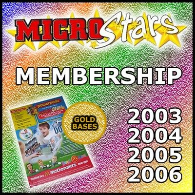 CRMG Corinthian MicroStars MEMBERSHIP EXCLUSIVES 2003-2006 (like SoccerStarz)